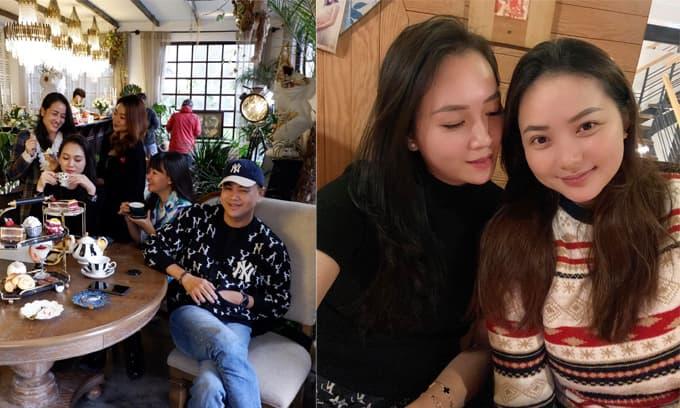 Cựu siêu mẫu Ngọc Thạch hội ngộ bạn thân Phan Như Thảo khi đi du lịch Đà Lạt