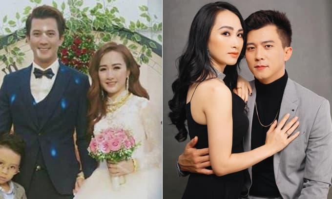 Nam diễn viên từng bị tình cũ tố 'sở khanh' - Hà Việt Dũng cùng vợ kỷ niệm 2 năm ngày cưới