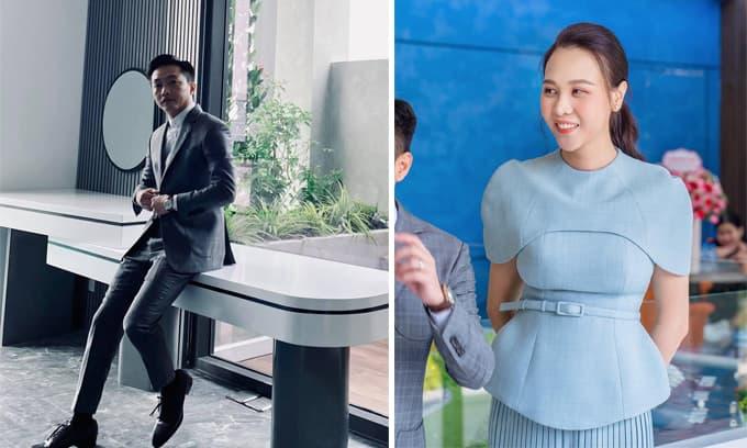 Đàm Thu Trang đăng ảnh mới, Cường Đô La liền vào khen: 'Vợ tui xinh quá'
