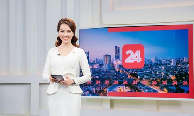 Á hậu Thụy Vân lên sóng trở lại, đập tan tin đồn nghỉ việc ở VTV