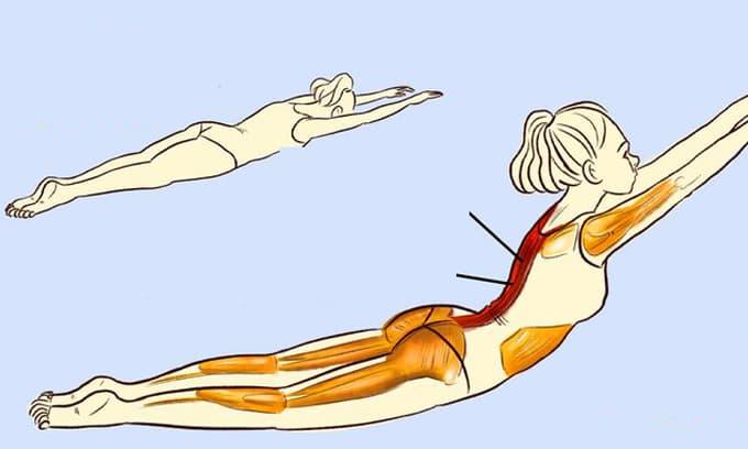 5 bài tập lưng giúp bạn cảm thấy như vừa được massage