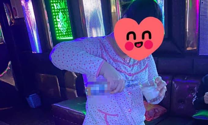 Vợ mặc nguyên bộ đồ ngủ đến tận quán karaoke tìm chồng và cái kết không ngờ tới