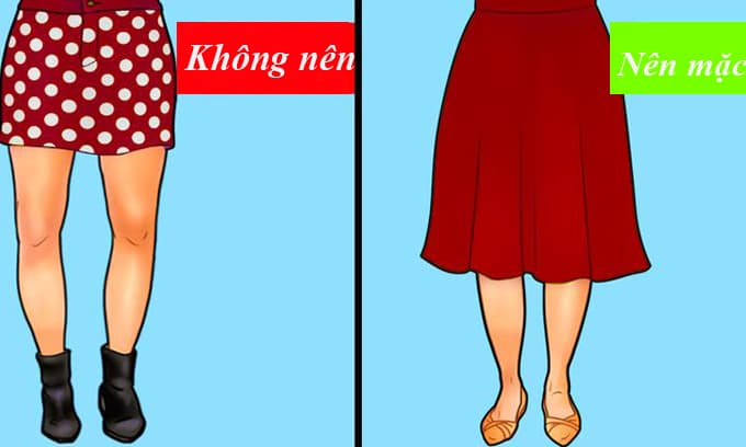 Gợi ý cách mix đồ cho phụ nữ có 5 dáng chân không chuẩn phổ biến