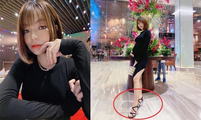 Bị rủa té khi diện giày cao gót trong lúc mang thai, vợ sắp cưới của Mạc Văn Khoa đáp trả gắt