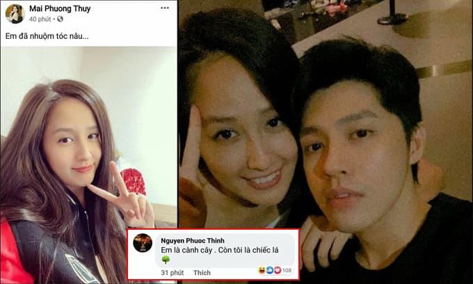 Nửa đêm, Mai Phương Thuý và Noo Phước Thịnh lại 'thả thính' nhau khiến fan phát hờn