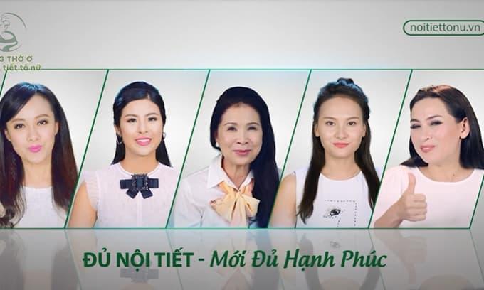 Bảo Thanh và hàng loạt sao Việt kêu gọi chị em tự kiểm tra nội tiết tố nữ tại nhà