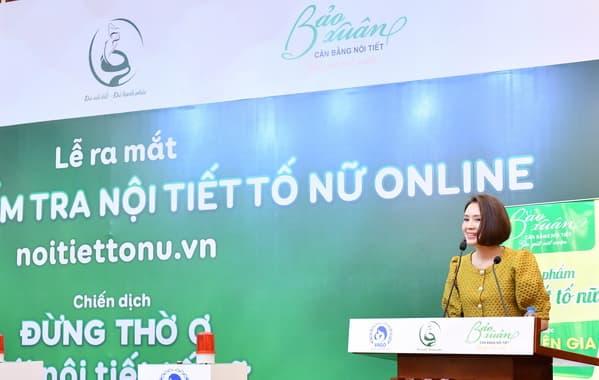 Ứng dụng kiểm tra nội tiết tố nữ, Bảo Thanh, Hồng Diễm