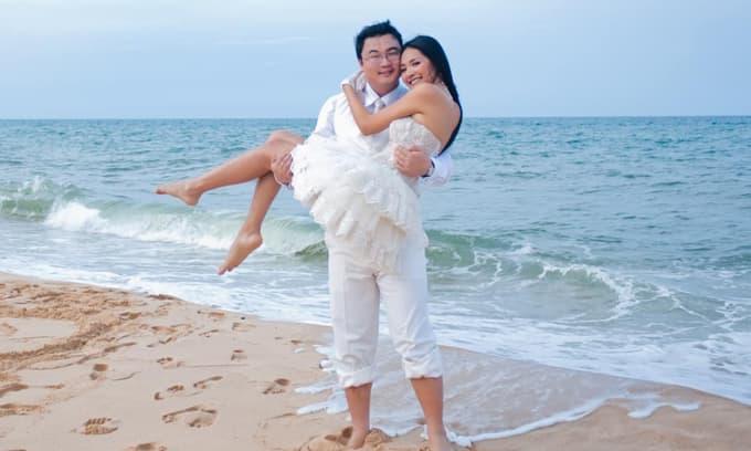 Hoa hậu Hương Giang kỷ niệm 10 năm ngày chung đôi, hé lộ ảnh cưới chưa từng công bố