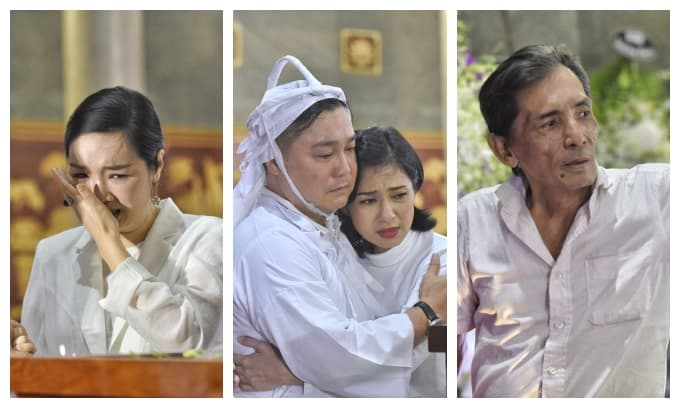 Giáng My, Việt Trinh... cùng nhiều sao Việt nghẹn ngào viếng NSND Lý Huỳnh