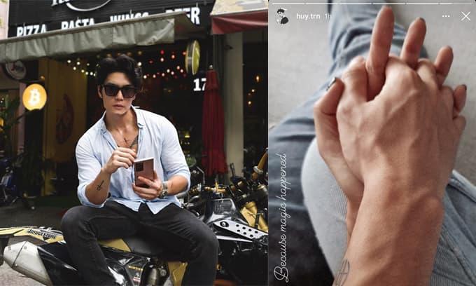 Giám đốc soái ca Huy Trần bất ngờ công khai đã có người mới sau gần 1 năm chia tay bạn gái rich kid