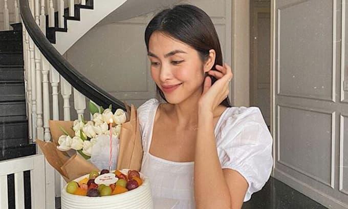 Tăng Thanh Hà đón sinh nhật giản đơn, hé lộ điều ước khi thêm tuổi mới