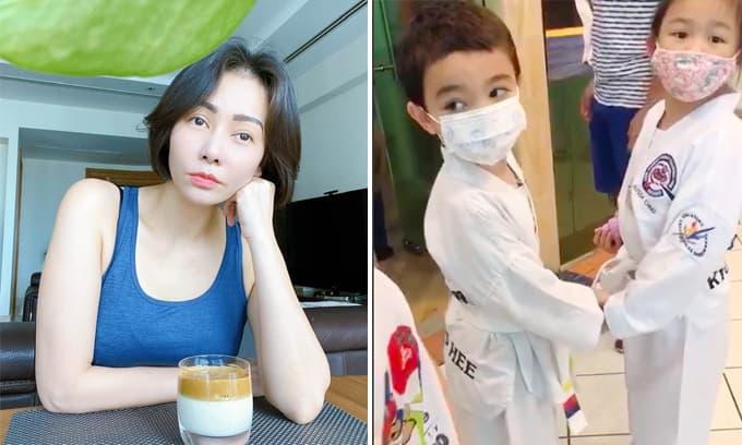 Mới 5 tuổi, con trai Thu Minh đã xin tiền mẹ đi mua đồ cho bạn gái mới, còn tuyên bố: 'Girl Friend thì không bao giờ là đủ cả  mẹ ạ'