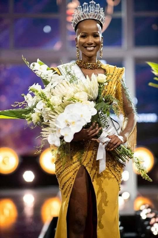 Hoa hậu Nam Phi 2020 3
