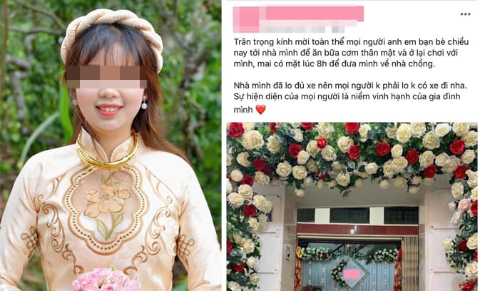 Đăng status mời bạn bè đi đám cưới nhưng chỉ có 3 người đến, cô dâu 'đăng đàn' bóc phốt khiến dân mạng tranh cãi