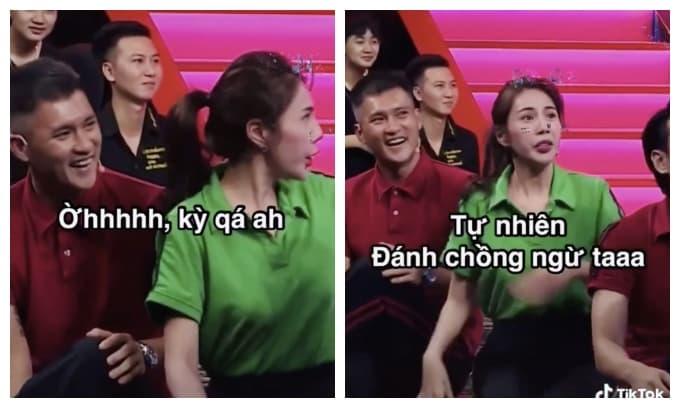 Cư dân mạng đào lại clip Thủy Tiên suýt 'ẩu đả' với Lê Dương Bảo Lâm để bảo vệ chồng