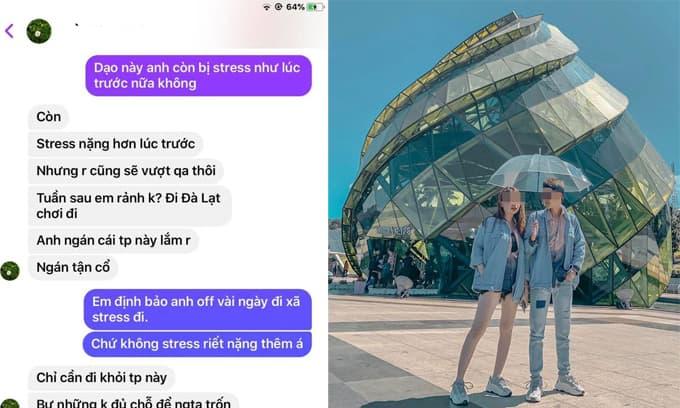 Tra hỏi việc bạn gái đi du lịch Đà Lạt với trai lạ, anh chàng nhận được câu trả lời không thể ngờ