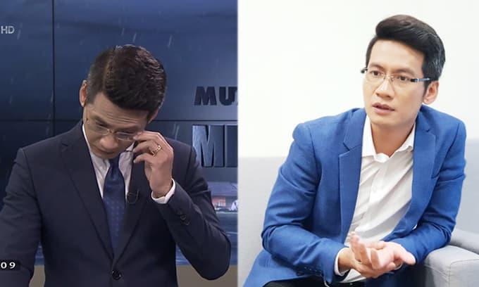 BTV Tuấn Dương lên tiếng về 'sự cố' trên sóng trực tiếp 'Mưa lũ lịch sử miền Trung'
