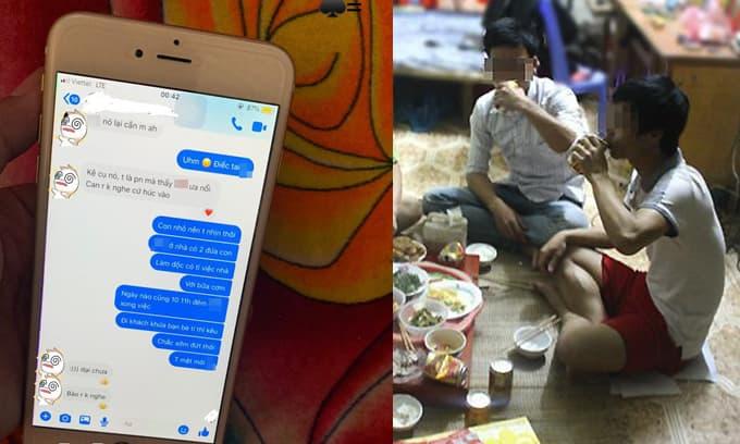Chồng đi nhậu thâu đêm suốt sáng với hội bạn mặc 2 con ốm, cô vợ đọc được tin nhắn mà 'uất nghẹn'