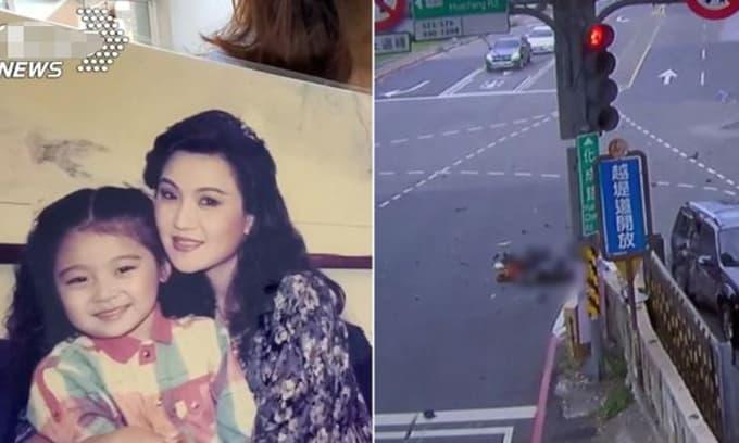 Đang chờ đèn đỏ, diễn viên Đài Loan bị xe taxi đâm từ phía sau dẫn đến tử vong