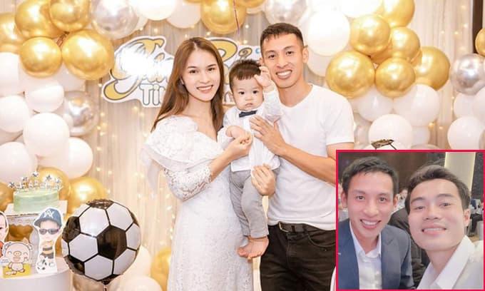Sinh nhật con trai Hùng Dũng, Văn Toàn chuyển khoản luôn 10 triệu tiền mặt làm quà mừng