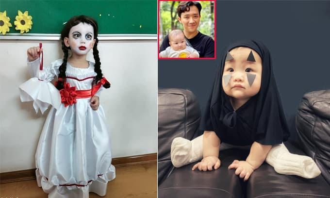 Hội phụ huynh 'đu trend' hóa trang Halloween cho con, chiếm spotlight là cháu gái cưng của MC Trấn Thành