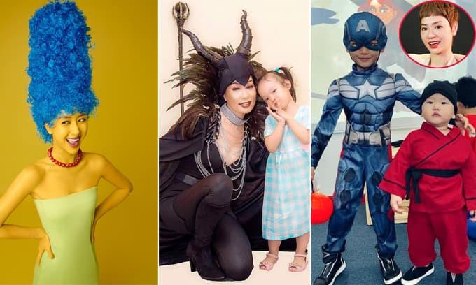 Sao Việt và nhóc tì nào có màn hóa trang ấn tượng nhất Halloween 2020?