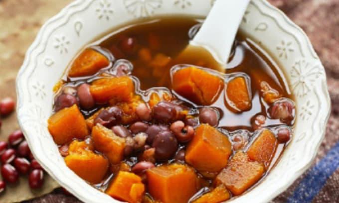 Mang bí đỏ nấu chung với thứ này, mỗi ngày một bát để bổ dạ dày, dưỡng huyết, người béo sẽ gầy đi khi ăn