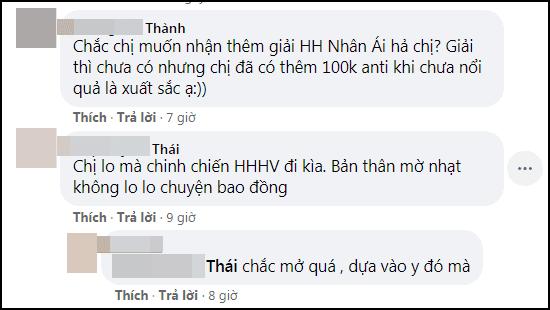 Hoa hậu Khánh Vân bị anti-fan tấn công dữ dội vì bênh vực Hương Giang