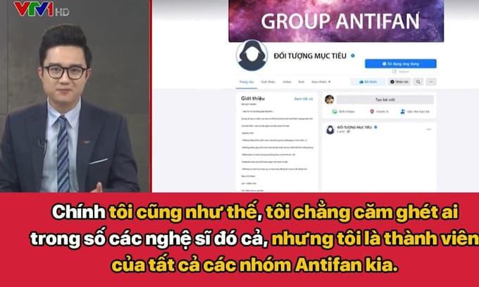 MC VTV Dương Sơn Lâm thú nhận là thành viên của tất cả các group antifan, nhưng chỉ vào để hóng chuyện