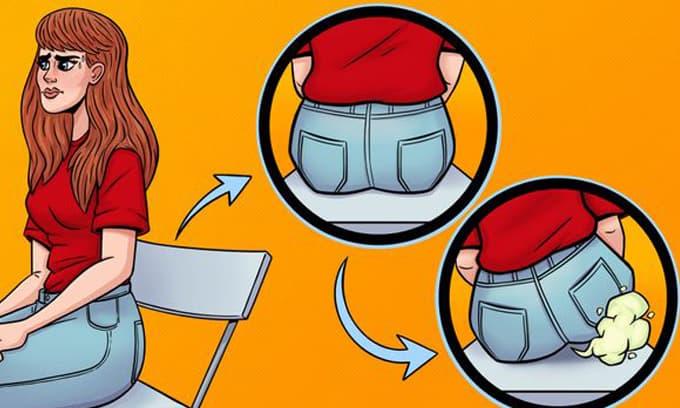 5 lý do khiến bạn tuyệt đối không nên nhịn xì hơi
