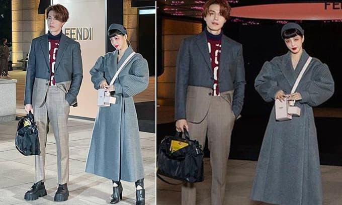 Bộ đôi Lee Dong Wook - Han Ye Seul đi sự kiện: Hóa ma nơ canh đời thực, visual 'chặt chém' nhất xứ Hàn