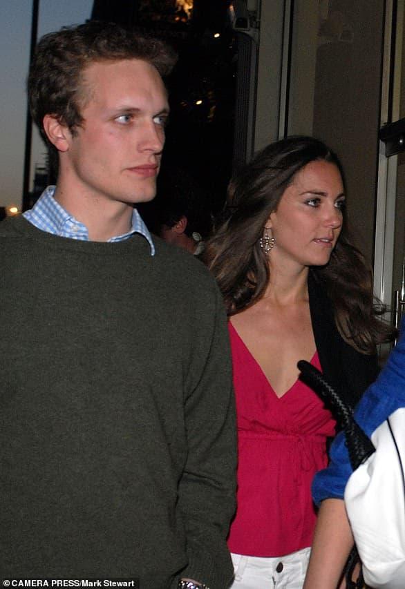 Lộ danh sách tình cũ của Hoàng tử William và Công nương Kate 5