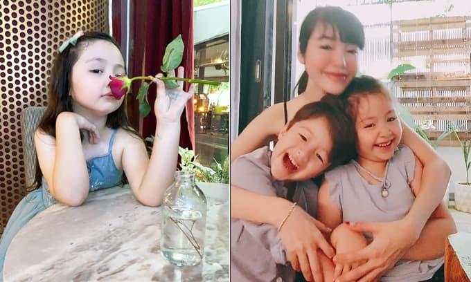 'Tan chảy' trước loạt ảnh xinh xắn mới nhất của Cadie Mộc Trà - con gái Elly Trần