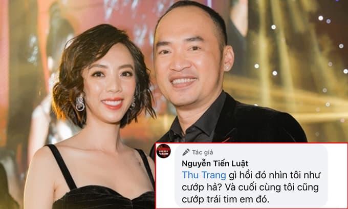 Nhà Tiến Luật - Thu Trang tung tin nhắn hờn dỗi nhưng lại khiến dân tình cười bò