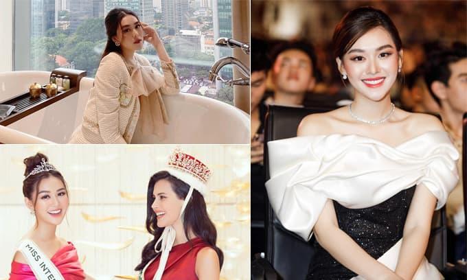 Ngắm nghía nhan sắc và hé lộ gia thế của Á hậu Tường San: Người đẹp sắp 'theo chồng bỏ cuộc chơi' ở tuổi 20