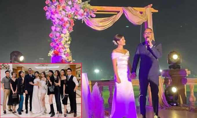 Tiệc mời cưới linh đình của MC Thu Hoài, hội bạn thân toàn sao cũng có mặt