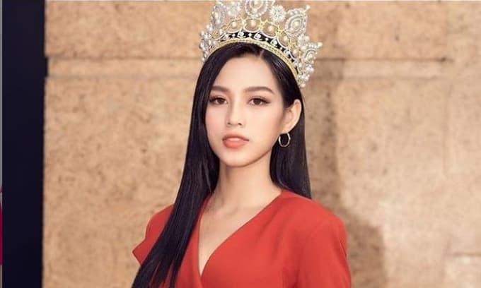 Phản ứng của Hoa hậu Đỗ Thị Hà khi bị fan BLACKPINK 'ném đá'