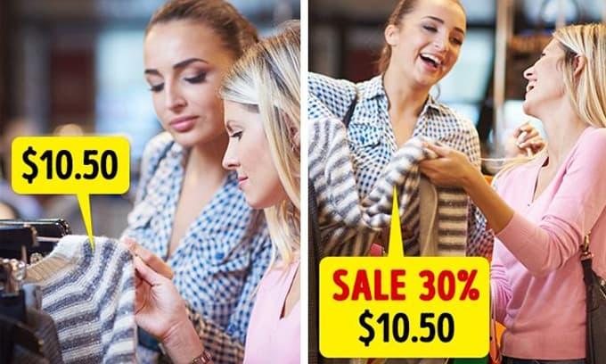 Quần áo sale 50-70% là siêu thực, tối đa chỉ giảm 10% và 5 điểm nhân viên bán hàng sẽ không muốn nói với bạn