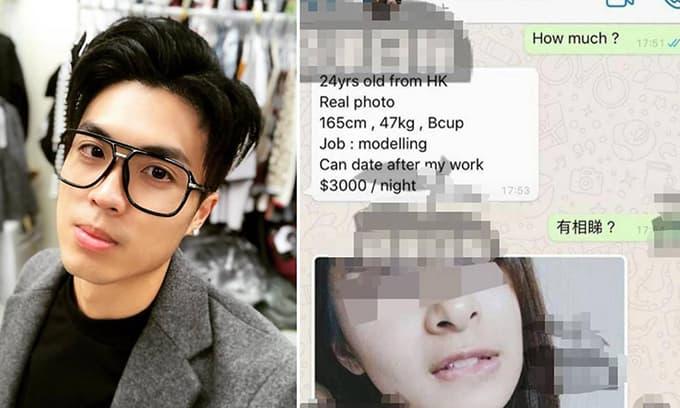 Sao nam TVB bị tố tung ảnh khỏa thân và rao tin bạn gái bán dâm
