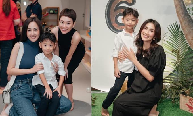 Con trai 'cực phẩm' của Trà My Idol đón tuổi mới, dàn mỹ nhân Việt hội tụ thi nhau cưng nựng