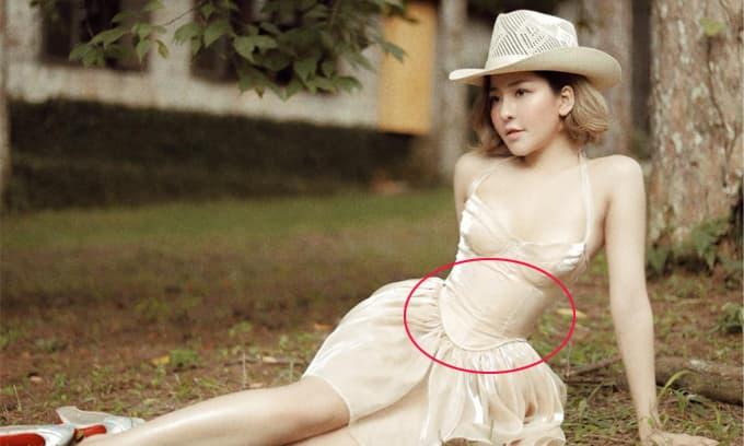 Hot girl Trâm Anh đăng ảnh siết eo nhỏ đến khó tin kèm phát ngôn về tiền và tình yêu