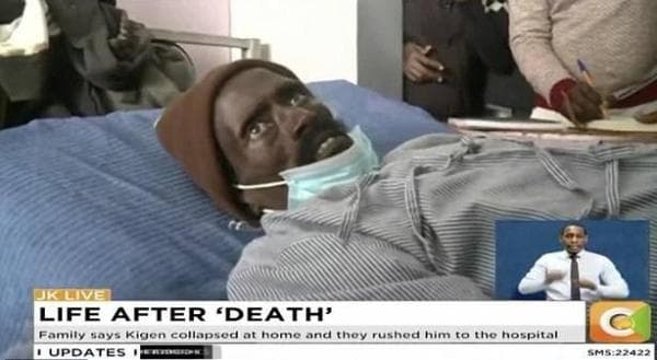 Một người đàn ông ở Kenya bất ngờ 'sống lại' khi đang chuẩn bị ướp xác