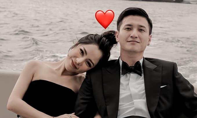 MC Bạch Lan Phương công khai hẹn hò với diễn viên Huỳnh Anh?