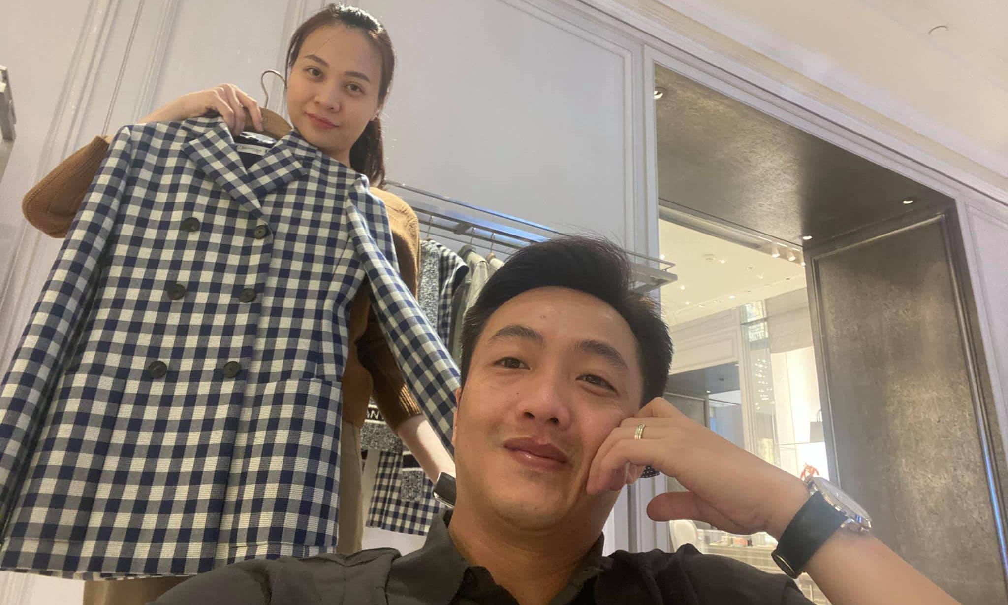 Cường Đô La đưa Đàm Thu Trang đi mua quà sinh nhật, lí do phía sau khiến chị em nào cũng 'lụi tim'