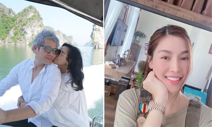Sao Việt 28/11: Diva Thanh Lam ngọt ngào hôn bạn trai; Quế Vân được khen xinh hơn khi mang bầu lần 3