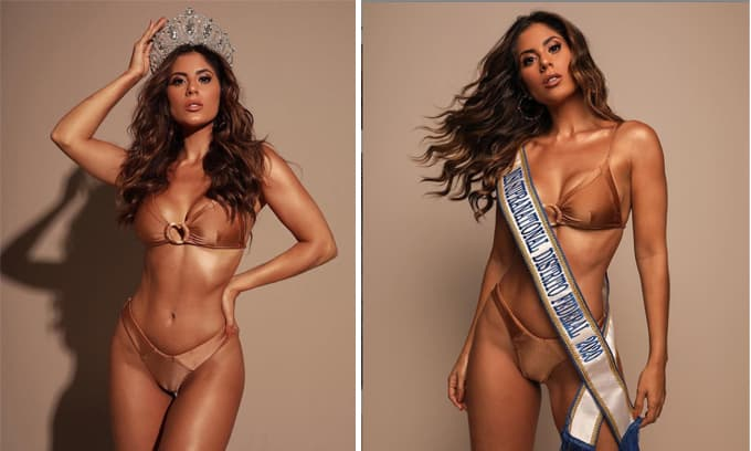 Vẻ ngoài nóng bỏng của Tân Hoa hậu Siêu quốc gia Brazil 2020