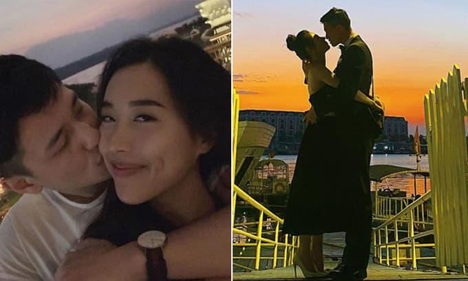 Huỳnh Anh đăng ảnh ôm bạn gái mới bằng cả hai tay, dân tình thắc mắc chi tiết liên quan đến tình cũ