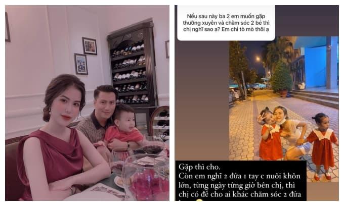 Bị hỏi chuyện Hoài Lâm gặp và chăm con hậu ly hôn, Bảo Ngọc đáp thẳng