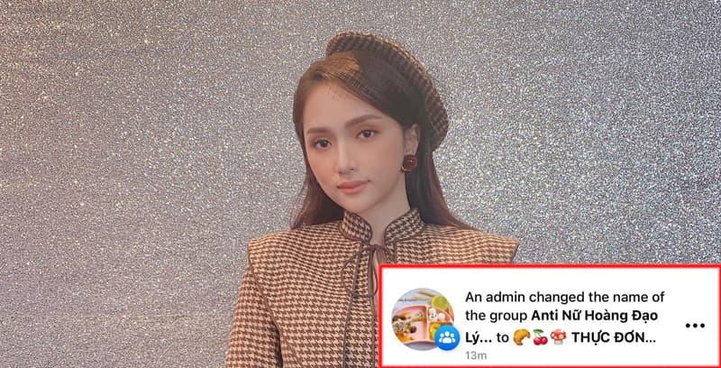 Group anti-fan khủng của Hoa hậu Hương Giang bất ngờ chuyển thành thực đơn ăn dặm