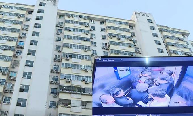 Hà Nội: Thang máy chung cư rơi tự do, nhiều người bị thương